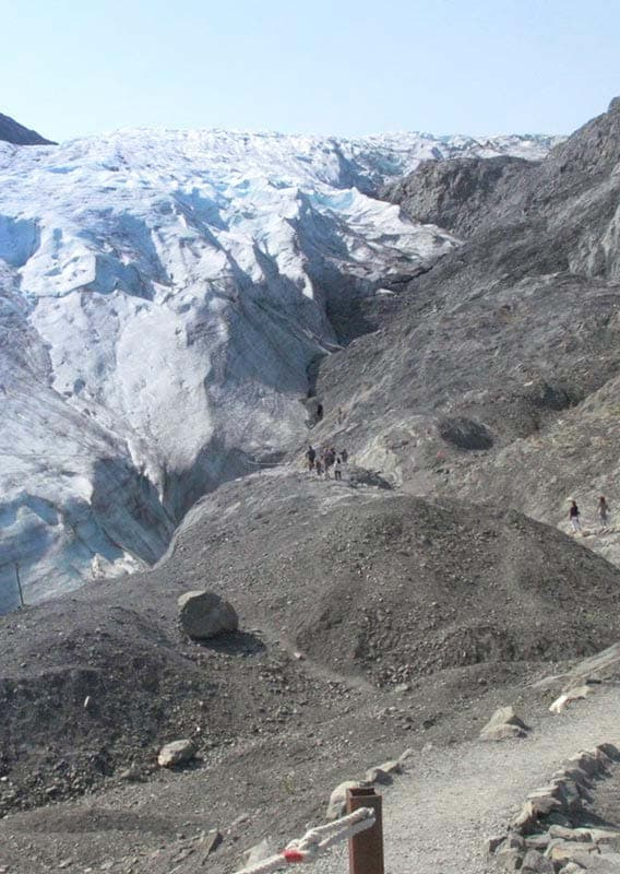 must see exit glacier hike near seward a guided walking tour