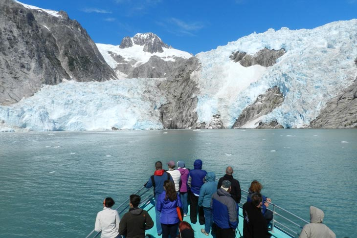 Cruise the inside passage of Alaska and Canada from Seattle to Juneau, or the reverse, for 14 nights. Explore Washington's San Juan Islands and see Alaska's glaciers and whales.