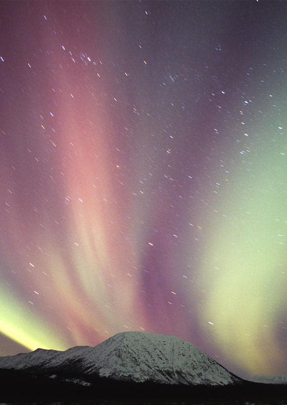 Northern Lights in the Arctic, Alaska