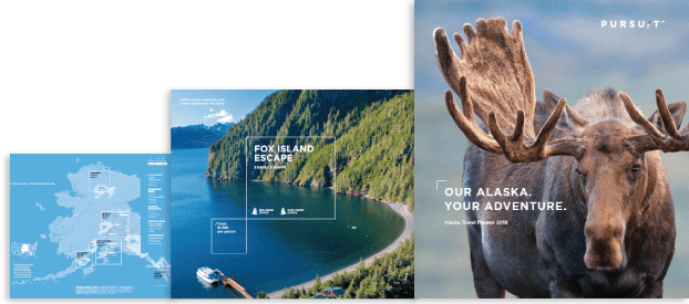 alaska travel brochures alaska collection