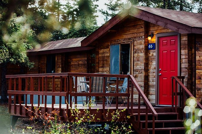 RM Denali Cabins Family Cabin. U2039 U203a