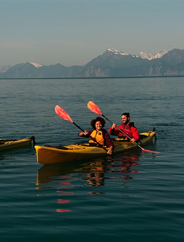Perfect Place, Perfect Time: Sea Kayaking at Kenai Fjords Wilderness Lodge