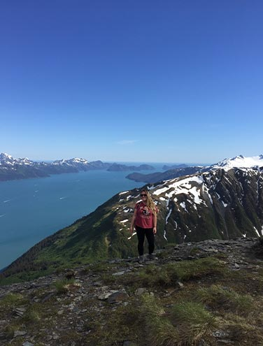 Mount Marathon - Hiking high above Seward