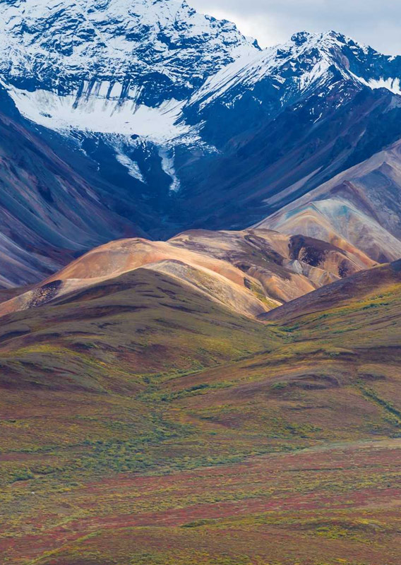Alaska Mountain Range