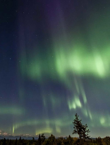 Where to See the Northern Lights: Aurora bliss in Talkeetna, Alaska