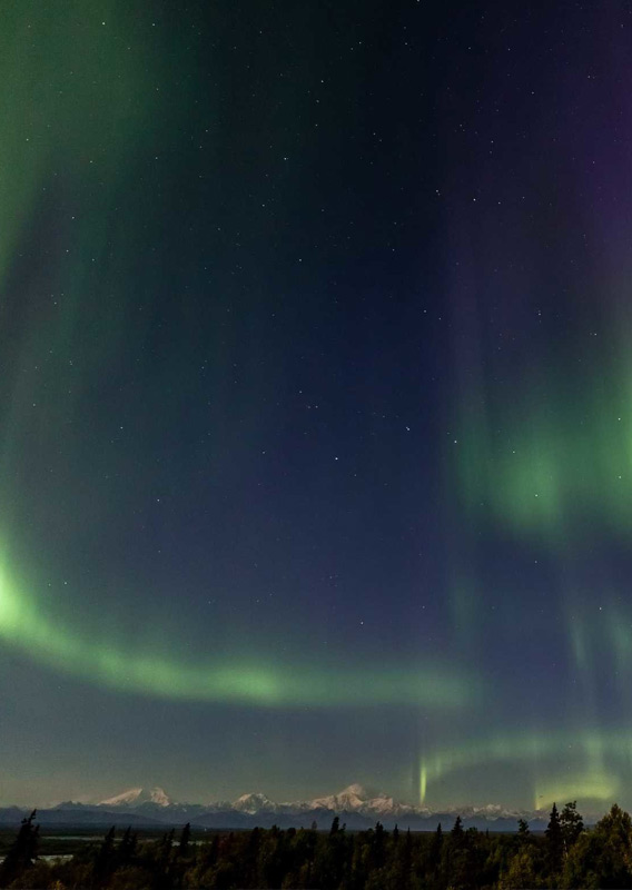 Northern Lights from Talkeetna