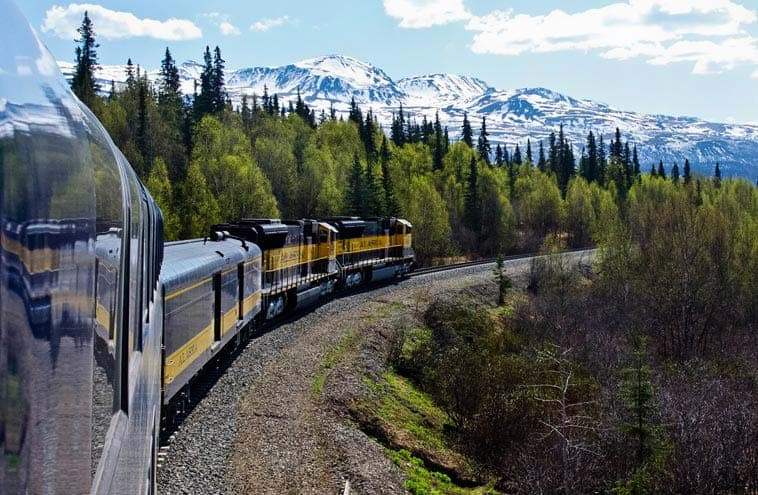 Discover Alaska By Alaska Railroad Routes From Denali To