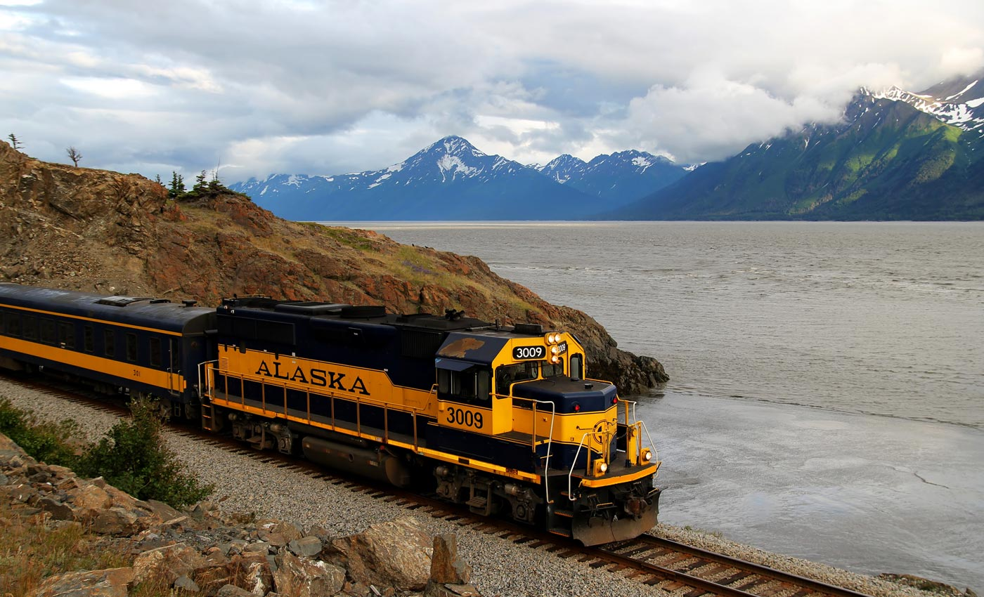 Explore Alaska by Train