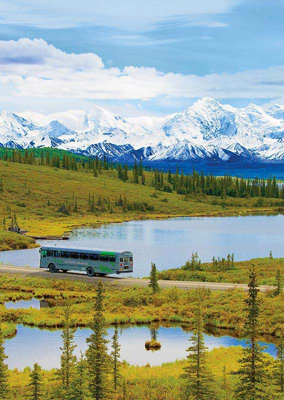 BN Alaska National Parks Escorted Tour
