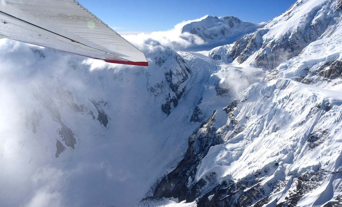 Soar around Denali