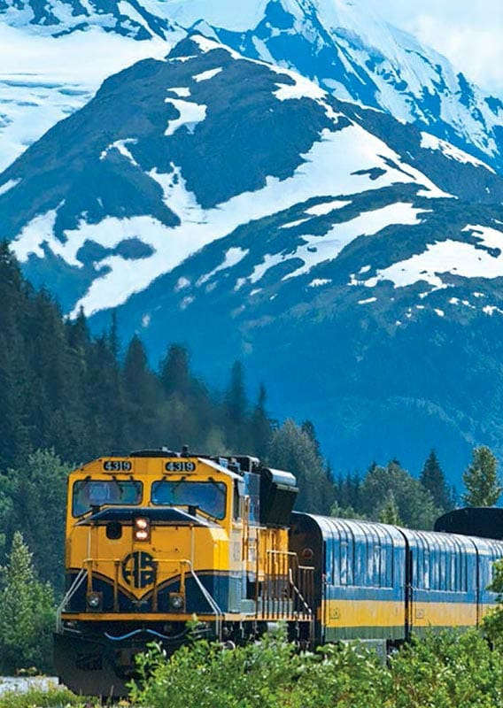 BN Interior Alaska by Rail
