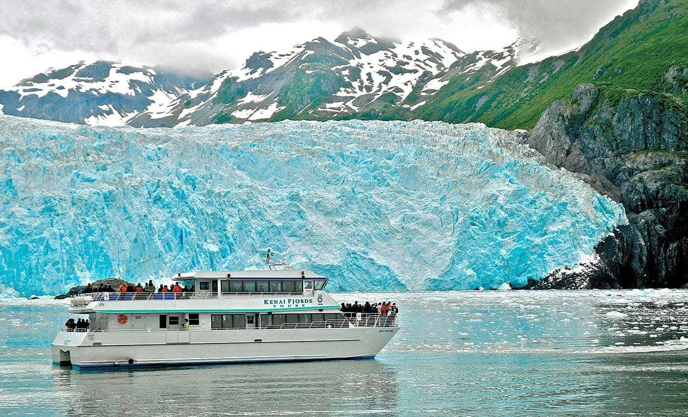 Glaciers, rainforests and wildlife