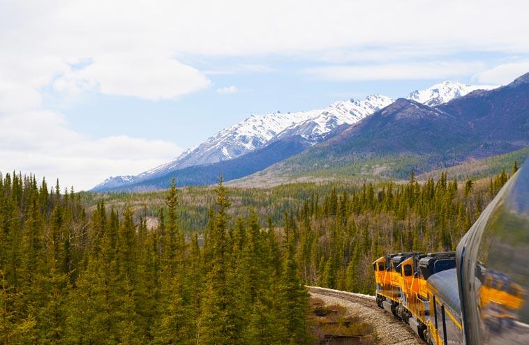 alaska national parks rail adventure  10 day ultimate rail