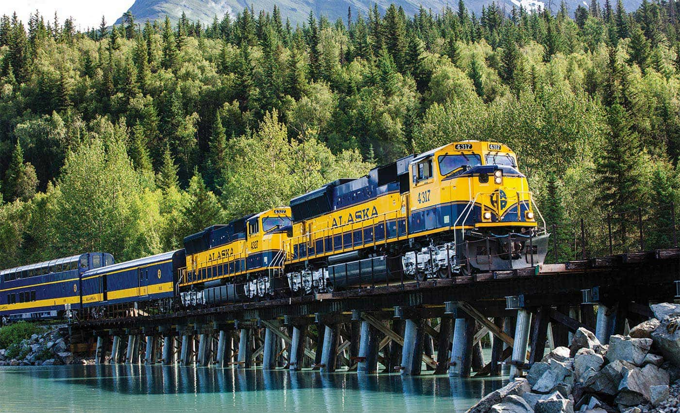 Ride the rails to Fairbanks