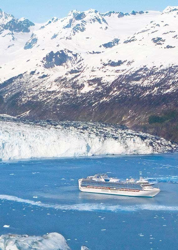 Voyage of the Glaciers with Princess Cruises
